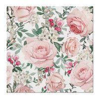 Obrúsky PAW AIRLAID L 40x40cm Gorgeous Roses