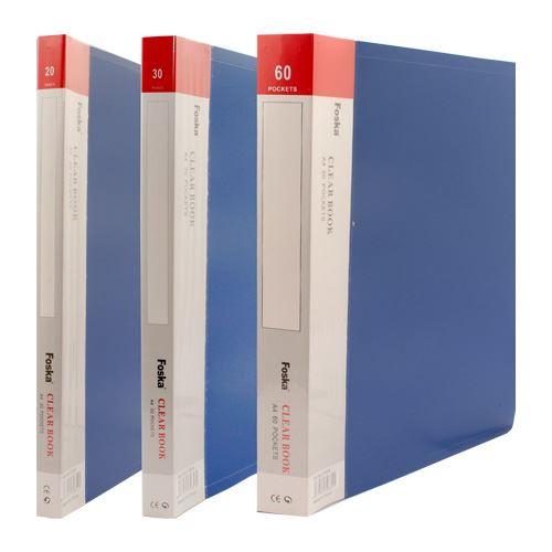 Katalogová kniha A4 / 60 listová, modrá