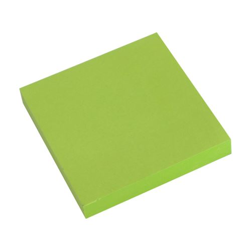 Blok kostka lepicí NEON zelený 76 x 76 mm