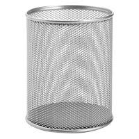 Drátěný stojan na pera velký, stříbrný