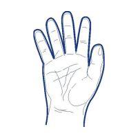Rukavice jednorázové LDPE pro muže, velikost L, (100 ks v bal.)