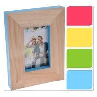 Fotorámeček 10x15 cm - dřevěný, 1 ks