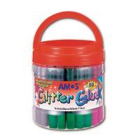 Lepidlo třpytivé AMOS, 10,5 ml mix barev