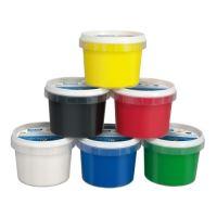 Barvy prstové MILAN 100 ml - bílá