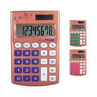 Kalkulačka MILAN kapesní 8-místná Copper