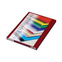 Fólie na přední stranu Prestige A4 200 µm červená