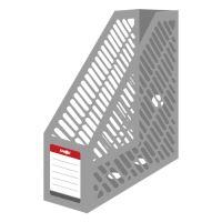 Stojan na časopisy A4 JUNIOR - plastový / šedý