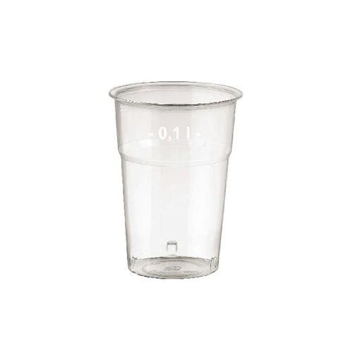 Pohár krystal 0,1 l, 50 ks