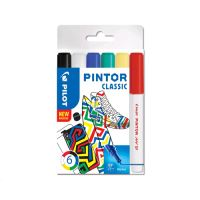 Dekorační popisovač Pintor Fine Classic, sada 6 ks, hrot EF