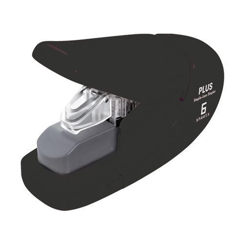 Sešívačka PLUS Paper Clinch mini 106AB (na 6 listů) černá