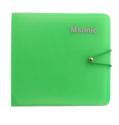 Pouzdro na 12 CD Msonik file compact 5512