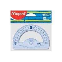 "Uhloměr MAPED ""GRAPHIC""180°, plastový, 12 cm"