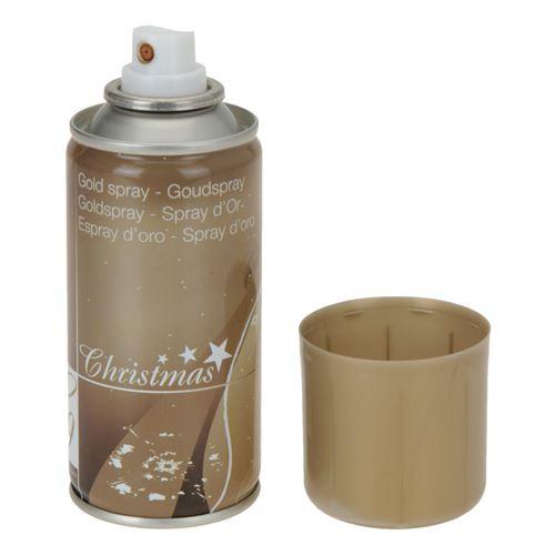 Vánoční sprej 150 ml - zlatý, 1ks