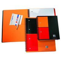 Sešit spirálový Oxford A4 + INT Activebook čtverečkovaný 80 stran