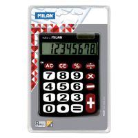 Kalkulačka MILAN stolní 8-místna 151708 černá