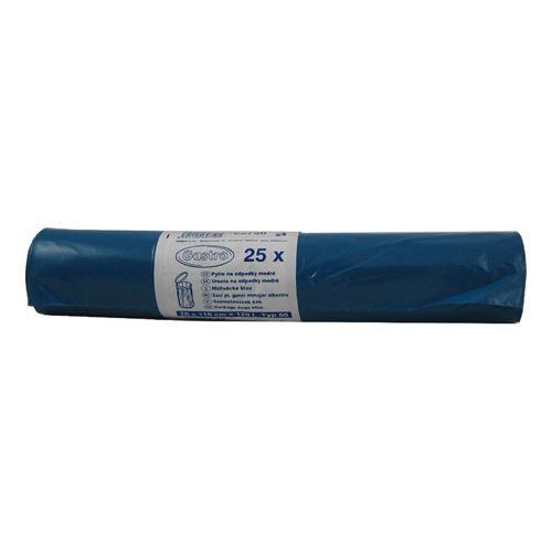 Pytle na odpad 120 l modré 70 x 110 cm /31mic/ Typ 50