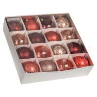 Vánoční koule - PP 100 mm / mix barev, mix / 1ks