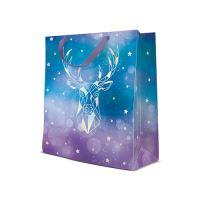 Dárková taška PAW Reflex Geometric Deer, medium - 20x25x10 cm