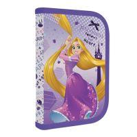 Penál 1-patrový / 1 klopa, s výbavou Rapunzel