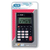 Kalkulačka MILAN 8-místní 150208 černá