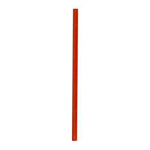 Slámky JUMBO 25 cm, červené (150 ks)