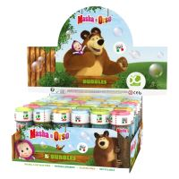 Bublifuk DULCOP 60 ml, Máša a Medvěd