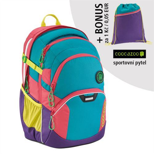 Školní batoh Coocazoo JobJobber2, Holiman + BONUS SPORTOVNÍ VAK za 0,05 EUR