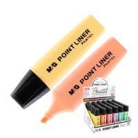 Zvýrazňovač M&G Pastel, mix barev