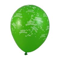 Nafukovací balónky Happy Birthday L / 100ks /