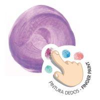 Barvy vodové prstové MILAN - 6 metalických barev, 100 ml