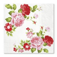 Ubrousky TaT 33x33cm Roses Composition Pink