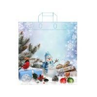 Taška LDPE s ušami 45x39 cm, Vianoce - mix vzorov