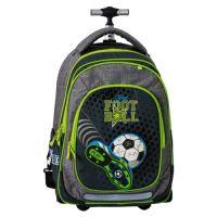 Školský batoh na kolieskach Trolley Play, Football Champions