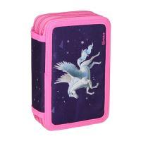 Penál 3-patrový / plný, 3D Pegasus