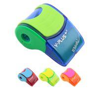 Ořezávatko plastové se zásobníkem + guma X09-4 Whistle