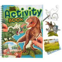 Omalovánka Dino World Activity Book