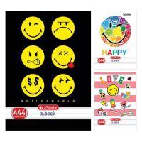 Zošit A4 40 listov linajkový 444 Smiley World