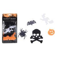 Konfety Halloween 1-2 cm - mix 5 motivů