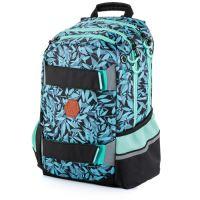 Studentský batoh OXY SPORT Mint Leaves