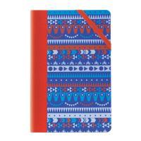 Zápisník čverečkovaný MILAN 210 x 140 mm Circus modrý