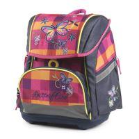 Školní anatomická taška Premium Flexi Motýl