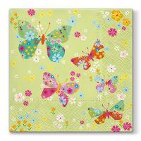 Ubrousky PAW L 33x33cm Butterflies Around