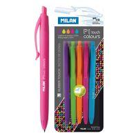 Pero kuličkové MILAN P1 Touch Colours, 5 ks sada