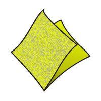 Ubrousky 1-vrstvé 33 x 33 cm žlutozelené 100 ks
