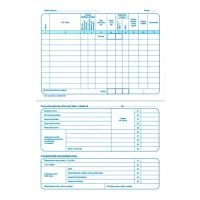 Záznam o prov. vozidla osob. dopr. A5 (275)