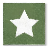 Obrousky PAW L 33x33cm Star Green