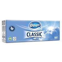 Hygienické kapesníky Ooops! Classic Sensitive 3-vrstvé, 1 ks