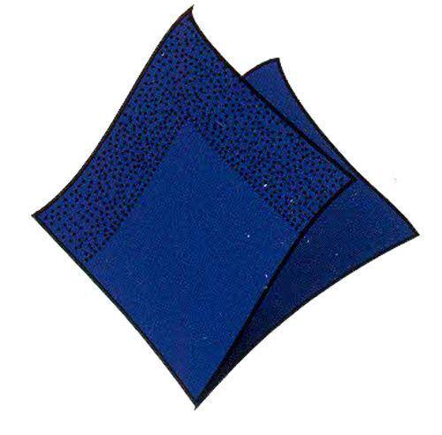 Obrousky  3-vrstvé 33 x 33 cm tm. modré /20 ks/