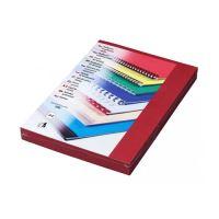 Kartonové desky DELTA A4 tmavě červené