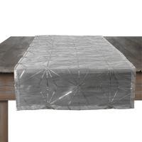 Ubrus vánoční - stříbrný 150x40 cm, 1ks